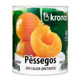 Pêssegos em Caldas Kronos Lata 820g