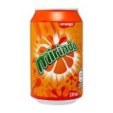 Refrigerante Importado Orange Mirinda Lata 330ml