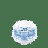 Esterilizador de Mamadeiras para Microondas Azul Avent Philips Caixa 1 Unidade