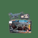 Dinossauro Velociraptor com Controle Remoto Mmark Caixa