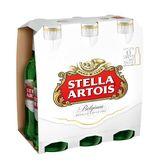 Cerveja Lager Premium Stella Artois Pack 6 Unidades 275ml Cada