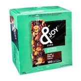 Barra de Cereal Avelã + Nibs de Cacau Zero Açúcares &Joy Caixa 12 Unidades de 25g Cada
