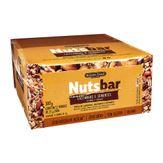 Barra de Cereal Castanhas e Sementes NutsBar Banana Brasil Caixa 12 Unidades de 25g Cada