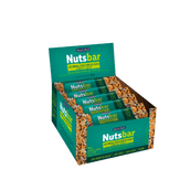 Barra de Cereal Castanhas, Coco e Nibs de Cacau NutsBar Banana Brasil Caixa 12 Unidades de 25g Cada