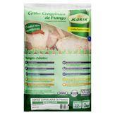 Sobrecoxa de Frango Congelada Kórin Sustentável Pacote 1kg