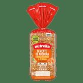 Pão de Forma Semente de Abóbora Linhaça Dourada & Cenoura Nutrella Pacote 350g