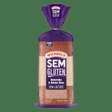 Pão de Forma Beterraba & Batata Doce sem Glúten e Lactose Wickbold Pacote 300g