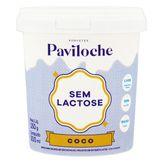 Sorvete de Coco sem Lactose Paviloche Pote 500ml