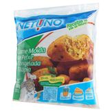 Carne Moída de Peixe Congelada Tilápia Netuno Pacote 500g