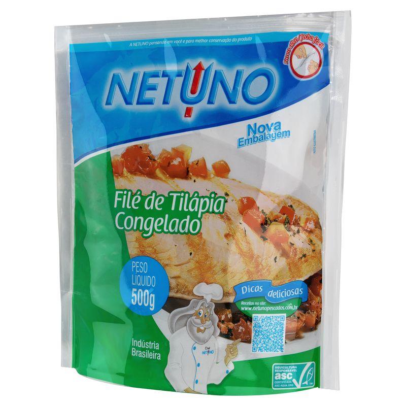File-de-Tilapia-Congelado-Netuno-Pacote-500g
