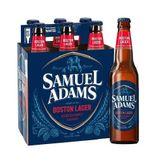 Cerveja Samuel Adams Lager Pack com 6 Garrafas 355ml Cada
