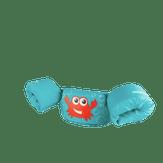 Colete Salva Vidas Inflável Infantil Caranguejo Azul Puddle Jumper 1 Unidade