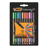 Caneta Color Bic Intensity Blister 10 Unidades