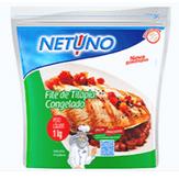 Filé de Tilápia Congelado Netuno Pacote 1kg