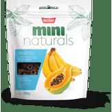 Mini Snacks Naturals Digestão Mamão e Banana Fit Bassar Pacote 300g