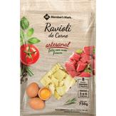 Ravióli de Carne Artesanal Member's Mark Pacote 750g