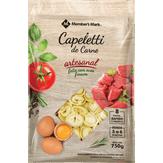 Capeletti de Carne Artesanal Member's Mark Pacote 750g