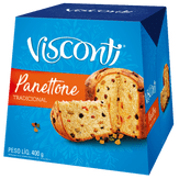 Panettone Frutas Cristalizadas Visconti Caixa 400g