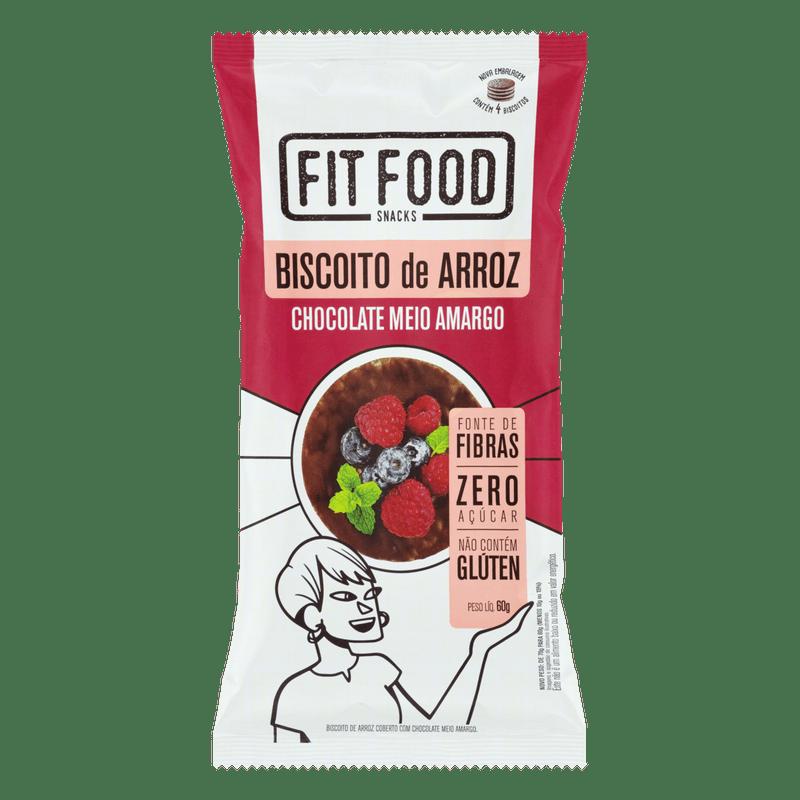 Biscoito-de-Arroz-Chocolate-Meio-Amargo-Zero-Acucar-e-Gluten-Free-Fit-Food-Pacote-60g