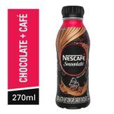 Bebida Láctea de Café e Chocolate Smoovlatté Nestlé Pack com 6 Unidades 270ml Cada