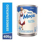 Leite Condensado Semidesnatado Moça Nestlé Lata 405g