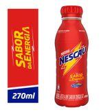 Bebida Láctea Chocolate Nescau Nestlé Pack com 6 Unidades 270ml Cada