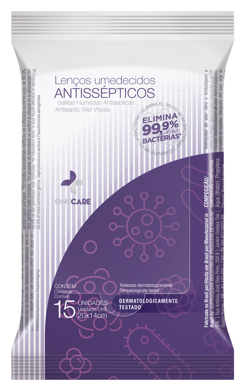 Lenco-Antisseptico-Onecare-6x15unid
