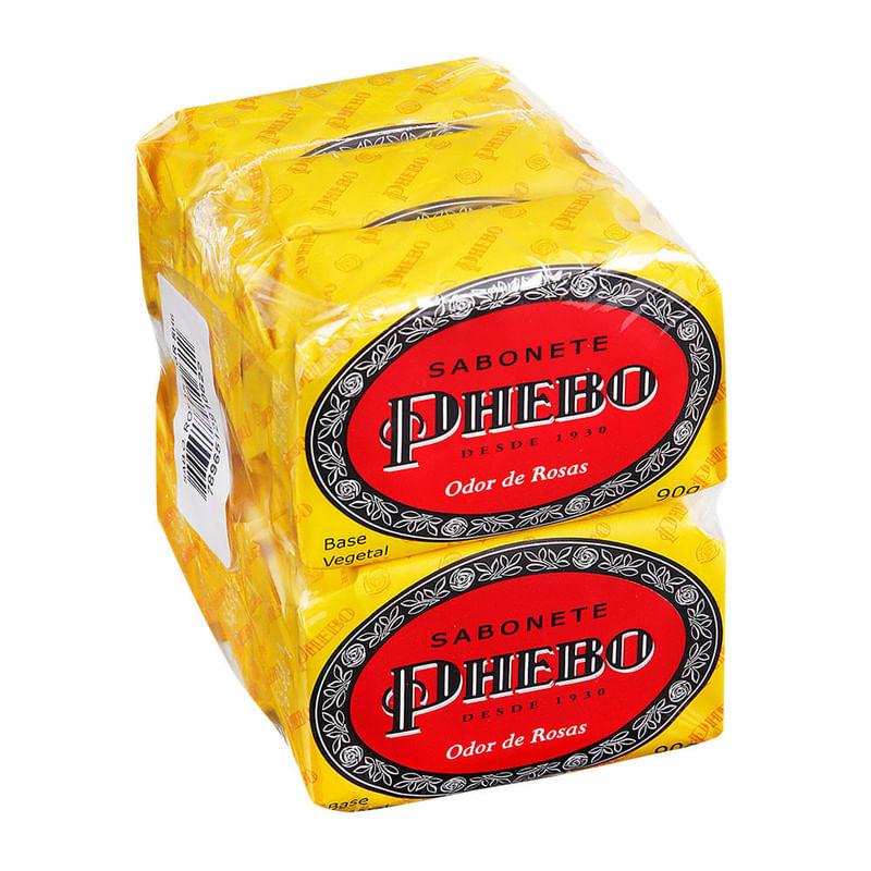 Sabonete-Phebo-Odor-De-Rosas-6x90g