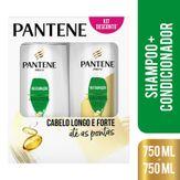 Shampoo + Condicionador Pantene Reparação Pack com 2 Unidades 750ml Cada