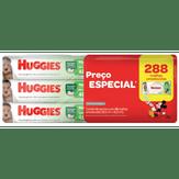 Toalhas Umedecidas Max Clean Huggies Pack com 6 Pacotes 48 Unidades Cada Embalagem Econômica