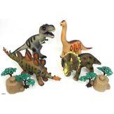 Conjunto Dinossauros Savage Caixa 4 Unidades