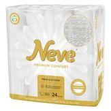 Papel Higiênico Folha Tripla Premium Confort Neve Pacote 24 Unidades