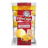 Batata Palha Tradicional Elma Chips Pacote 425g Embalagem Econômica