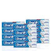 Creme Dental Cool Mint Extra Branco Oral-B Pack com 12 Unidades 70g Cada